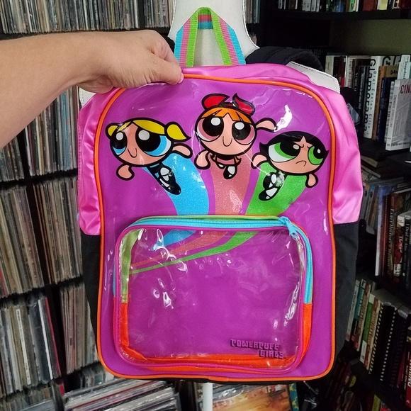 dc051e689b22 Powerpuff Girls Backpack from 2000. M 5b54cfedc89e1dd8e71f1a4b